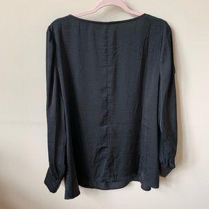 Eloquii Tops - New! Eloquii black open long sleeve blouse #585